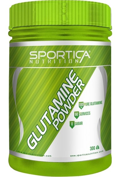 Sportica Nutrition Glutamine 300 Gr