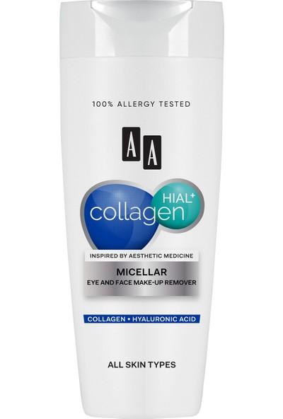 Aa Collagen Hıal+ Misellar Göz ve Yüz Makyaj Temizleyicisi