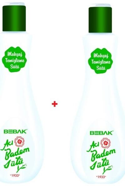 Bebak Acı Badem Süt 215GR Büyük Boy 2 Adet SKT:2021