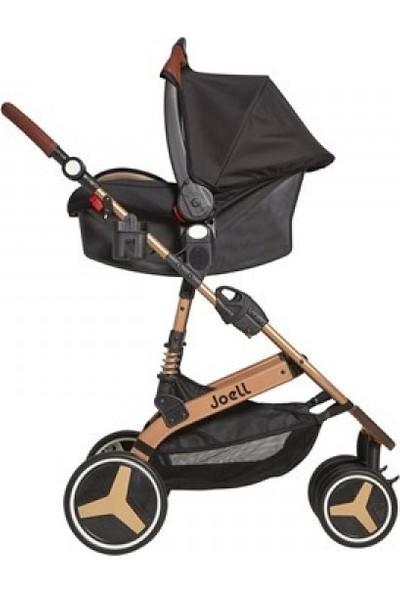 Joell Travel Sistem Bebek Arabası - Siyah Gold