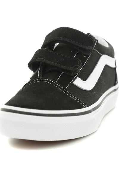 Vans Old Skool V Çocuk Spor Ayakkabı Siyah