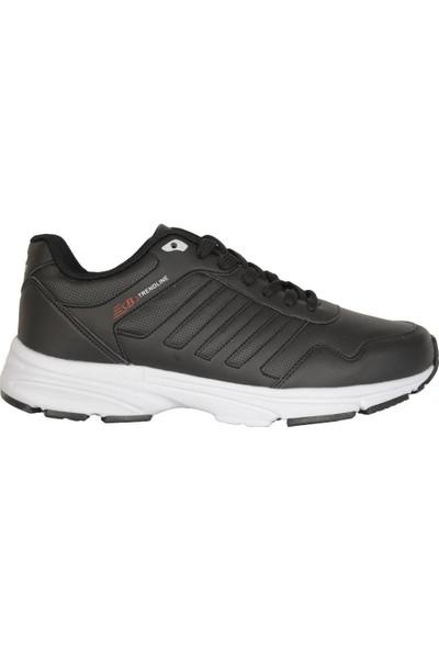 Bestof 054 Siyah-Beyaz Günlük Yürüyüş Erkek Spor Ayakkabı 41