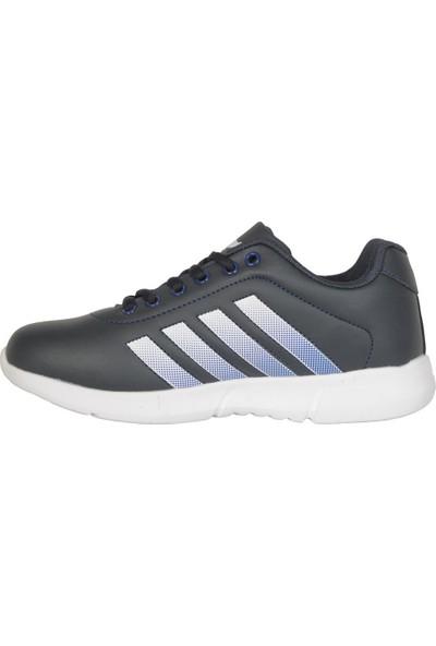 Cheta C047 Lacivert Günlük Yürüyüş Kadın Spor Ayakkabı 38