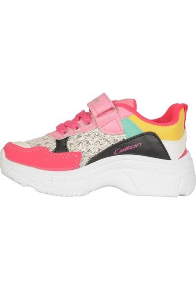 Callion Karışık Renkli Günlük Kız Çocuk Spor Ayakkabı 29