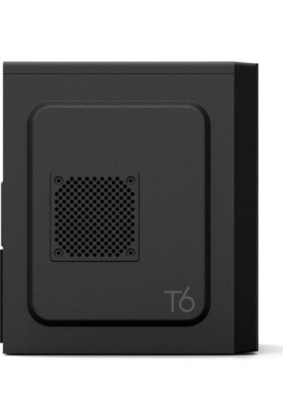 Zalman ZM-T6_500W 500W ATX Midi Tower Bilgisayar Kasası Siyah