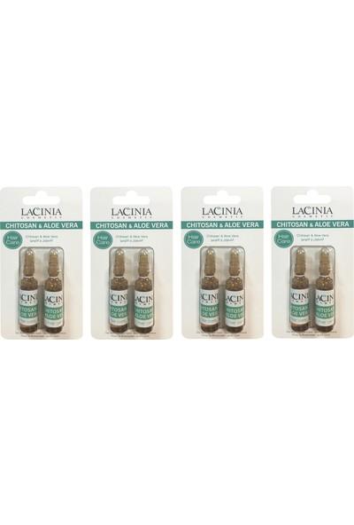 Lacinia Ampul- Chıtosan & Aloe Vera Saç Serumu 4 Paket
