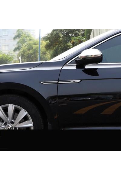 Space Volkswagen Passat Golf Arteon R-Line 4'lü Çamurluk Logosu /YACI130