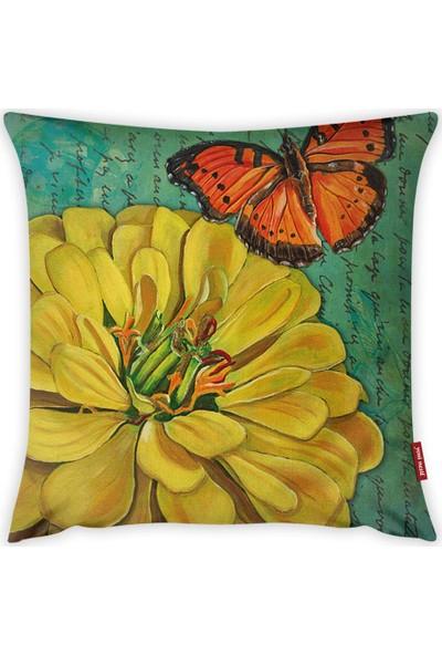 Yeni Nesil Tekstil Dekoratif Kırlent A61103