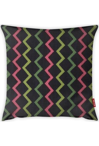 Yeni Nesil Tekstil Dekoratif Kırlent Kılıfı A19244-K