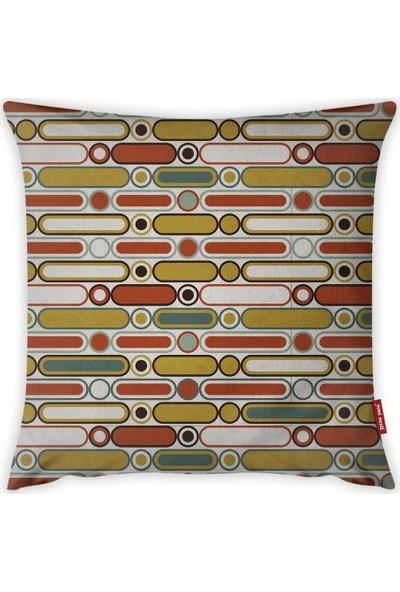 Yeni Nesil Tekstil Dekoratif Kırlent Kılıfı A19409-K