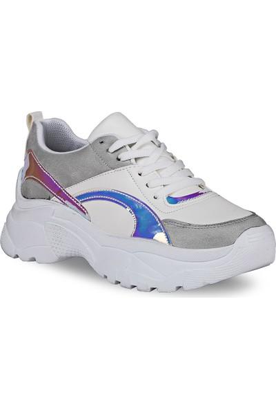 Crash Kadın Sneaker 14-611 Beyaz 36