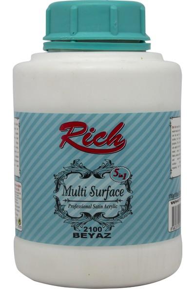 Rich Multi Surface Akrilik Boya 1250 Cc. Beyaz