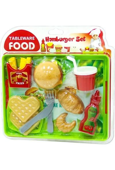 Uçar Tepside Hamburger Seti