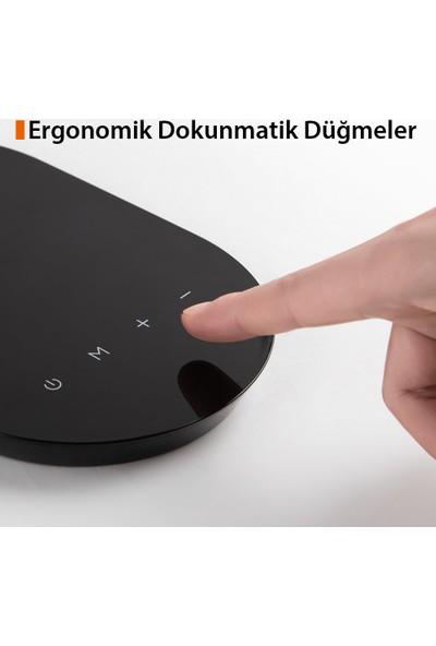 TaoTronics TT-DL064 Taşınabilir/Katlanabilir LED Masa Lambası (3 Renk, 5 Kısıklık Dokunmatik Ayarlı)