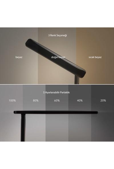 TaoTronics TT-DL064 Taşınabilir/Katlanabilir LED Masa Lambası Siyah (3 Renk, 5 Kısıklık Dokunmatik Ayarlı)
