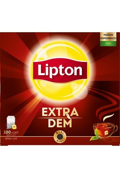 Lipton Extra Dem Bardak Poşet Çay 100'lü