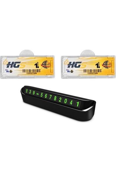 Modacar 2 Adet Hgs Etiket Kabı Cep Telefonu Ekranı