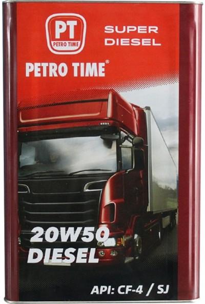 Petro Time 20W50 Süper Dizel 16 Lt Motor Yağ 20.11.2019 Tarihli