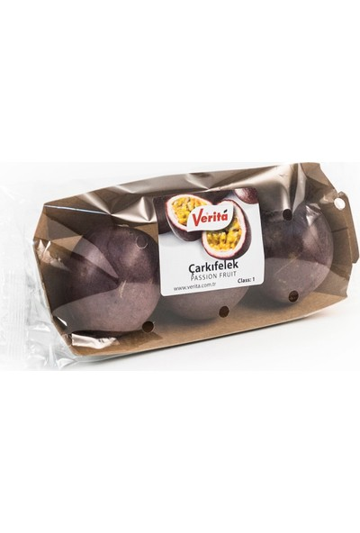 Verita Çarkıfelek (Passion Fruit) 3'lü Tabak 180 gr