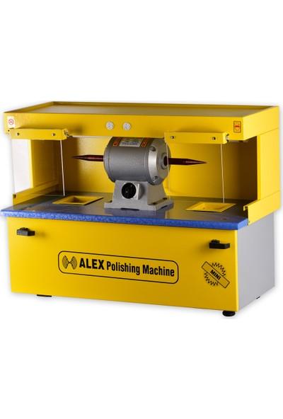 Alex Machine Masaüstü Çiftli Cila Makinası