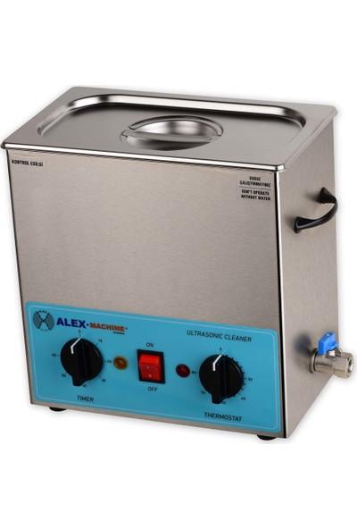Alex Machine Ultrasonik Yıkama Makinası 4 Litre Laboratuvar