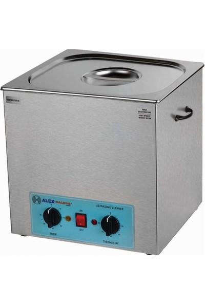Alex Machine Ultrasonik Yıkama Makinası 8 Litre Laboratuvar