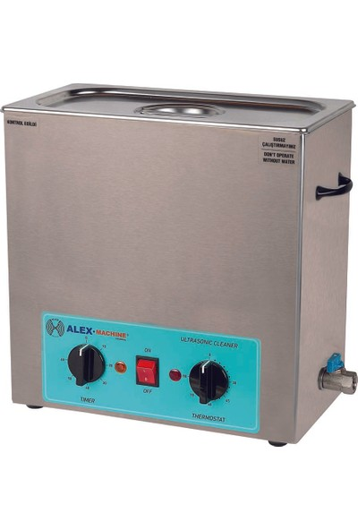 Alex Machine Ultrasonik Yıkama Makinası 6 Litre Laboratuvar