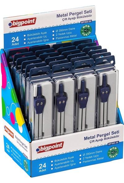 Bigpoint Metal Pergel Seti Çift Ayağı Bükülebilir 24'lü Stand