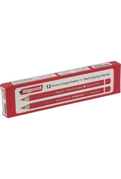 Bigpoint Kırmızı Kopya Kalemi 144'lü Kutu (12'li Kutu x 12'li Şirink)