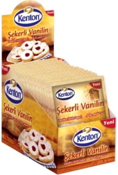 Kenton Hamur Şekerli Vanilin 36'lı (1'li Paket)