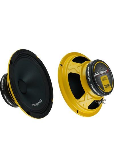 Soundmax Oto Hoparlör SX-M8XL 20 cm 300W Midrange