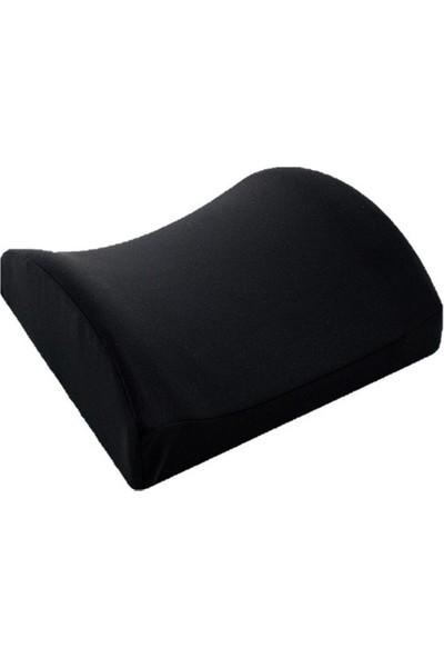 Newoto Visco Bel Destek Yastığı Siyah B109