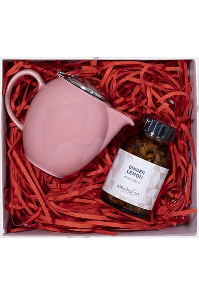 Asia Chai Art Tea Treat Rose Demlik Ginger Lemon
