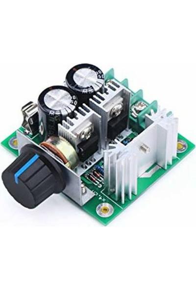 Arduino Pwm Dc 12V/24V/30V/40V Motor Governor Module With 10A Speed Control Switch