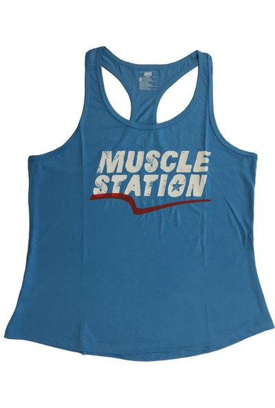 Musclestation Toughman Tank Workout Fitness Atlet XL