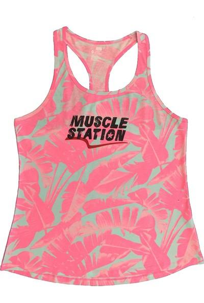 Musclestation Toughman Tank Workout Fitness Atlet M