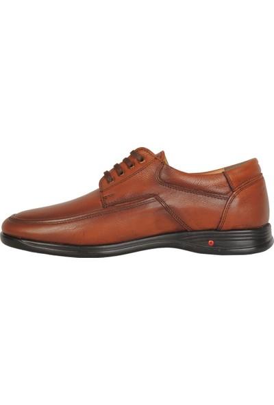 Scarpe Sano 584 Taba %100 Deri Büyük Numara Erkek Ayakkabı 45