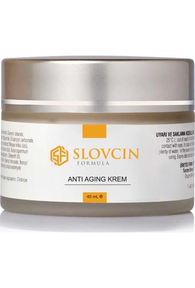 Slovcin Anti Aging Krem (Yaşlanma Karşıtı)