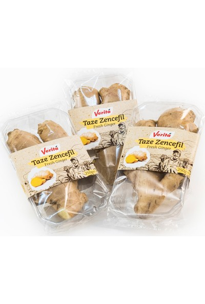 Verita Taze Zencefil 250 gr 3'lü Paket