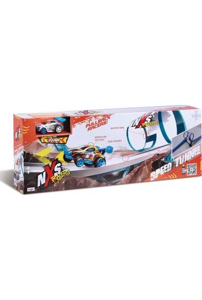 Maisto Nxs Racers Speed Tunnel Yarış Yolu ve 1 Adet Araba Seti