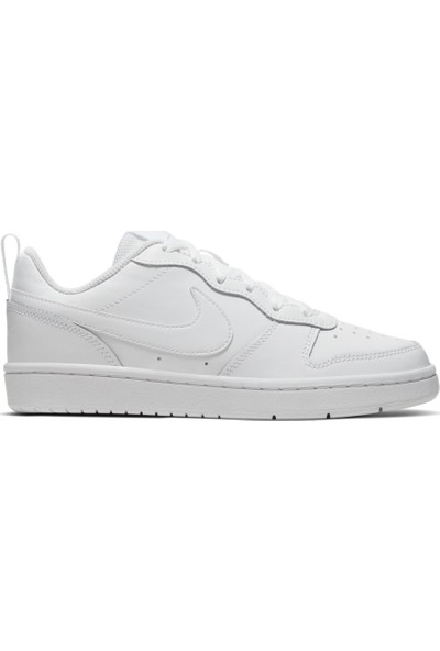 Nike BQ5448-100 Court Borough Low 2 Genç Çocuk Ayakkabı 36.5