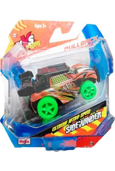 Maisto Nxs Racers Mini Çek Bırak Araba 6 cm