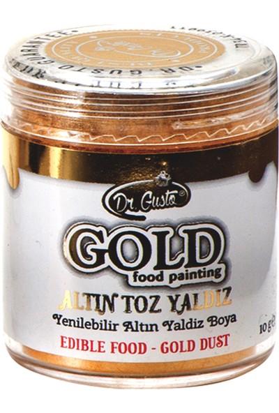 Dr Gusto Yenilebilir Metalik Toz Altın Yaldızlı Gold Boya 10 gr