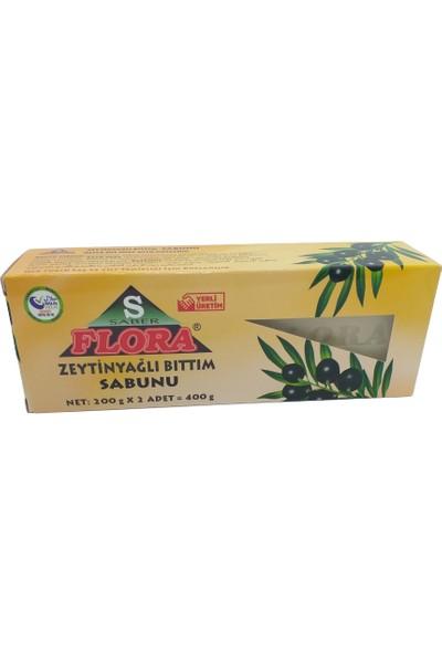 Saber Flora Zeytinyağlı Bıttım Sabunu Sabunu 400 gr