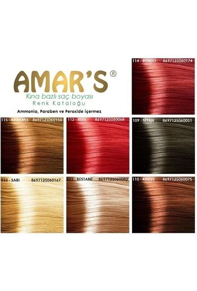Amars Kına Saç Boyası - Altın Sarısı