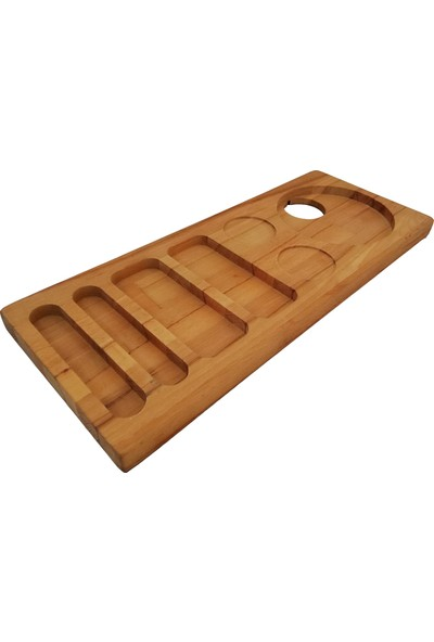 Woodlife Karşılama-Otel-Ikram Tepsisi 50 x 20 x 3 cm