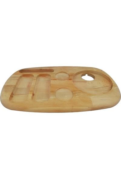Woodlife Karşılama-Otel-Ikram Tepsisi 45 x 25 x 2,5 cm