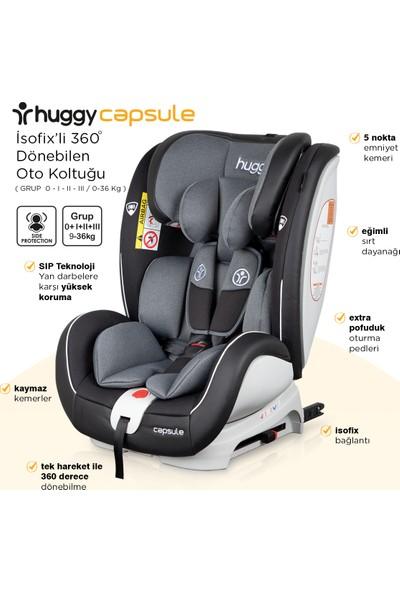 Huggy Capsule ROTATE360° Dönebilen 0-36 Isofix Oto Koltuğu