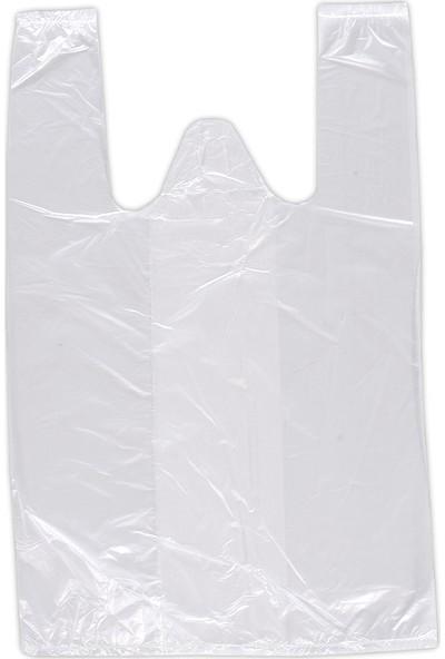 Hoşgör Plastik Hışır Atlet Market Manav Poşeti Orta Boy 2 Paket:400 Adet