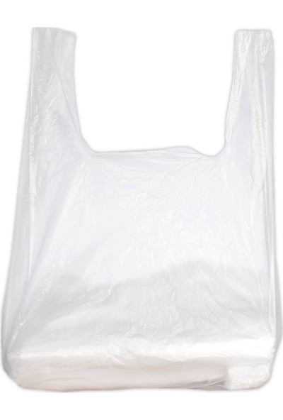 Hoşgör Plastik Hışır Atlet Market Manav Poşeti Büyük Boy 2 Paket:280 Adet